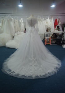 Real Sample Wedding Dress Manufacture Bridal Gown 160611 pictures & photos