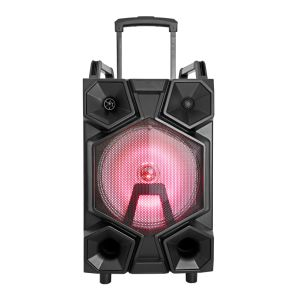 New Product Rechargeable Trolley Bluetooth Speaker with Light pictures & photos