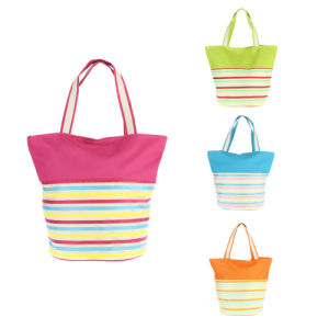 Promotional 600d Polyester Fashion Woman Beach Tote Bags pictures & photos
