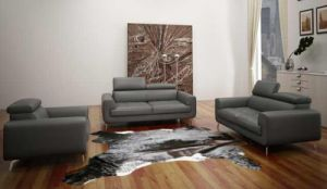 Office Furniture Leather Sofa Set (L068) pictures & photos