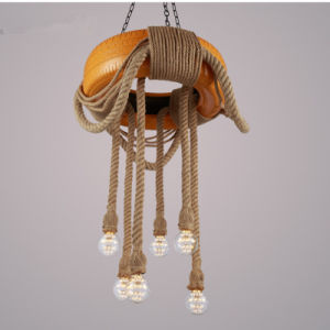 Modern Fashion Tire Hemp Rope Industrial Pendant Lighting pictures & photos