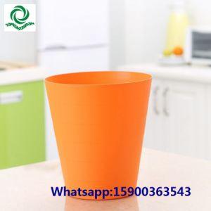 Kitchen Round Household Open Top Plastic Garbage Bin pictures & photos