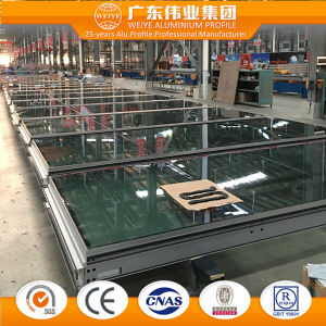 China Top Ten Factory Manufacturer Wtlm125 Series Heavy Sliding Glass Door pictures & photos