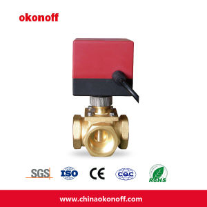 Ce Certification Distributary Motorized Ball Valve (ETOV0253-16C) pictures & photos