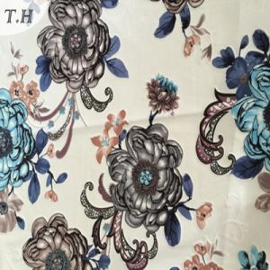 2016 New Design Velvet Printed Fabrics in China Manufacturers pictures & photos