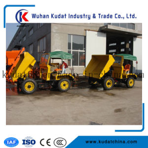 2tons Four Wheel Drive Concrete Dumper pictures & photos