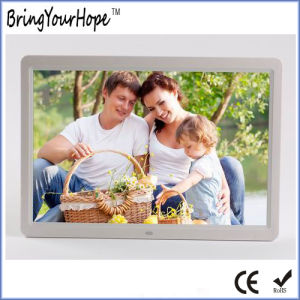 15 Inch Wide Screen 16: 9 Digital Photo Frame (XH-DPF-150AL) pictures & photos