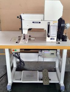 Cams Controlled Heavy Duty Thick Thread Ornamental Stitching Machine for Leather Upholstery and Fabrics pictures & photos