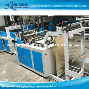 HDPE Grocery Shopping T Shirt Handle Bag Making Machine pictures & photos