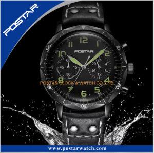 New Arrival Waterproof Sport Chronograph Quartz Wrist Watch pictures & photos