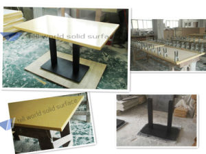 High Quality High End Restaurant Table Table Top pictures & photos
