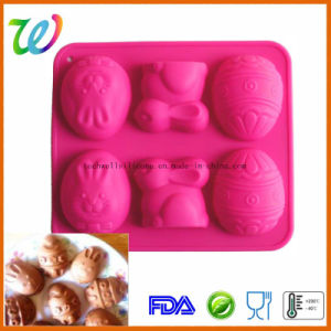 Factory Wholesale Easter Egg Silicone Bakeware pictures & photos