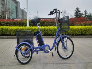 36V 10ah Lithium Battery Cheap Assisted 3 Wheel Electric Trike Scooter pictures & photos