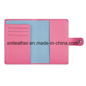 PU Leather Passport Case Cover Travel Ticket Holder Wallet pictures & photos