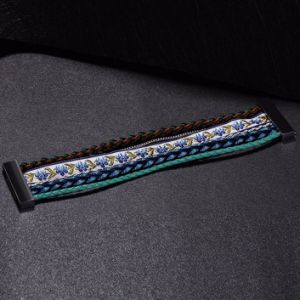 Bohemian Multilayer Magnetic Clasp Bracelet Imitation Jewelry pictures & photos