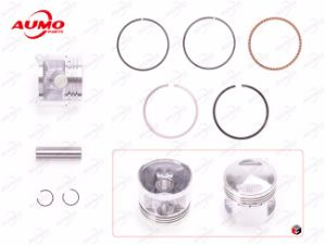 Cg125 Titan 125kt 125agk Piston and Ring Set Engine Parts pictures & photos