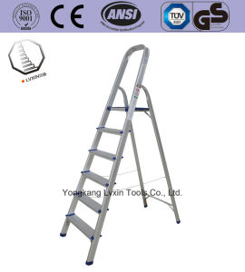 Aluminium Ladder for Household of 6 Steps pictures & photos