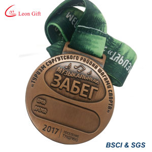 Custom Antique 3D Metal Medal Wholesale with Best Price pictures & photos