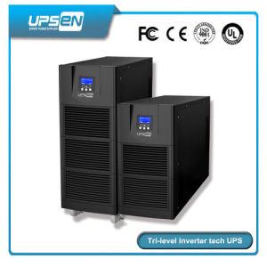 Pure Sine Wave Three Phase Online UPS Support The Generator pictures & photos