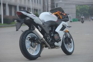 High Quality New Style 2 Cylinders 200cc Racing Motorcycle pictures & photos