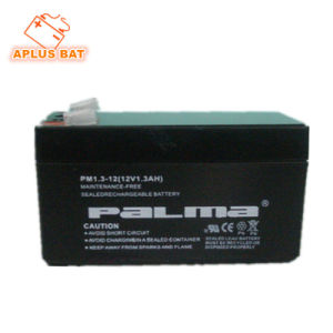 Rechargeable Sealed Lead-Acid Battery 12V 1.3ah for Backup Power Supply pictures & photos