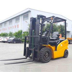 Niuli 2000kg Electric Forklift Price with Ce pictures & photos