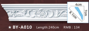 Factory Price PU Cornice and Coving/ Polyurethane Plain for Decoration pictures & photos