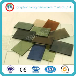 4mm-10mm Light Green /F Green Tinted Float Glass pictures & photos
