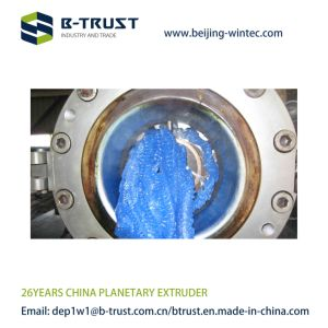 PVC Planetary Extruder with German Planetary Screws From China Btrust pictures & photos