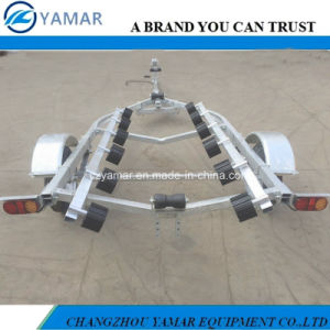Galvanized Boat Trailer with Winch pictures & photos