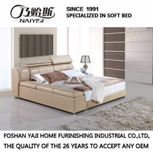 Modern New Design Bed for Bedroom Use (FB3073) pictures & photos