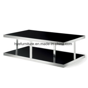 Living Room Furniture New Design Glass Coffee Table pictures & photos
