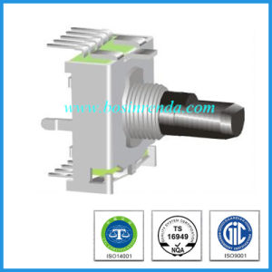17mm Series Prescion Universal Changeover Single Gang Electrical Rotary Switches pictures & photos