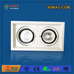 Wholesale 90lm/W 30W Aluminum Ceiling LED Grille Light pictures & photos