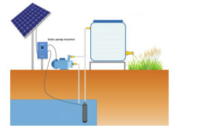 off-Grid 3 Phase MPPT Solar Power Hybrid Pump Inverter for Irrigation pictures & photos