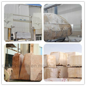 CNC Diamond Wire Saw Edge Cutting Machine for Granite Marble pictures & photos