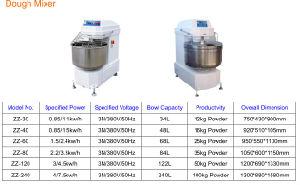 Cnix Double Speed Bread Baking Machine Dough Mixer pictures & photos