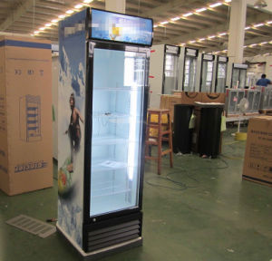 Single Door Upright Drink Fridge for Beer and Coca Cola and Other Soft Drinks pictures & photos