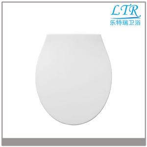 Quick Release White Round Soft Close Toilet Seat Cover pictures & photos