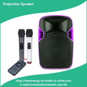 Professional Plastic LED Projection Speaker Box - Projector pictures & photos