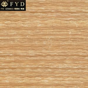 Royal Wood Grain Full Polished Glazed Tile (FQB3081P) pictures & photos