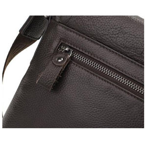 Fashion Man′s Genuine Leather Shoulder iPad Bag (RS-GR0022) pictures & photos