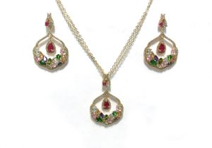 Wholesale White Gold Plated Silver 925 Jewelry Set (S3322B) pictures & photos