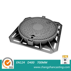 C250 Slow Moving Heavy Traffic Solid Manhole Covers pictures & photos