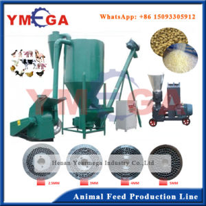 Environmental and Economical Animal Feed Pellet Production Line pictures & photos