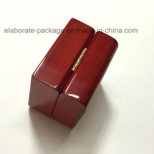 Customized Wooden Jewelry Gift Ring Packaging Box pictures & photos