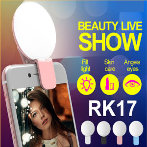 Innovated Selfie Ring Light LED Selfie Flash Light (RK17) pictures & photos