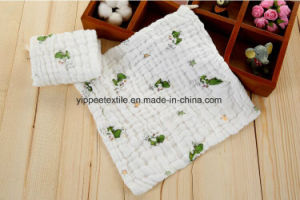 100% Cotton Muslin Burp Cloth Towel pictures & photos