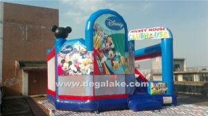 Inflatable Micky Mouse Bouncy Slide Combo, Micky Mouse Jumping Bouncer pictures & photos