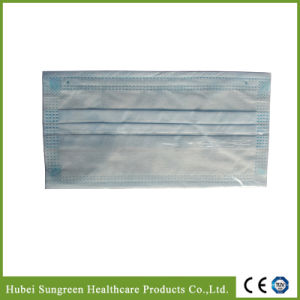 Blue Non-Woven Face Mask Without Binding pictures & photos